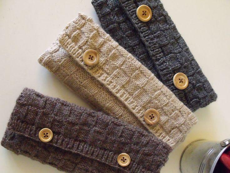 pochette tricot facile !