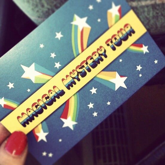 Round Up...The Magical Mystery Tour <3