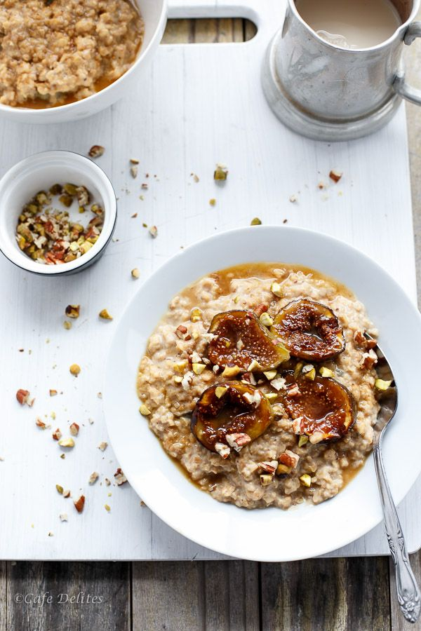 Caramelized Fig Toasted Oatmeal