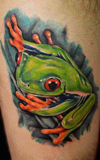 Realism Animal Tattoo by Joe Carpenter