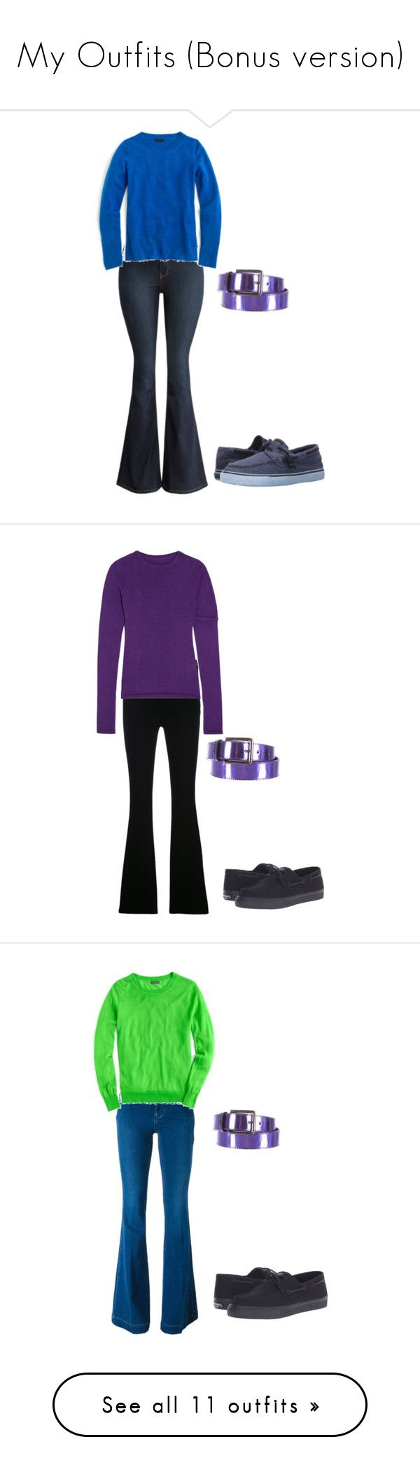 """""""My Outfits (Bonus version)"""" by sierra-ivy on Polyvore featuring Sperry, J.Crew, Ports 1961, Frame, Jacquemus, STELLA McCARTNEY, shoes, sneakers, nike and chaussures"""