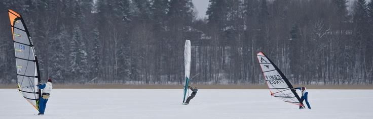 Winter surfing www.gosaimaa.com/MikkoNikkinen