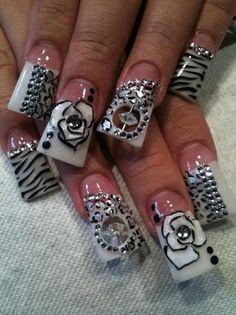 spinning bead nail art pics - Google Search
