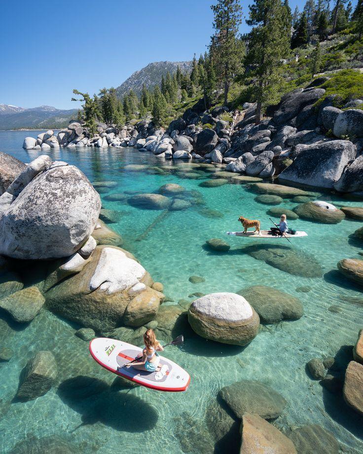 Neugierig auf die besten Plätze zum Paddeln am Lake Tahoe? Ich habe dich verdeckt …