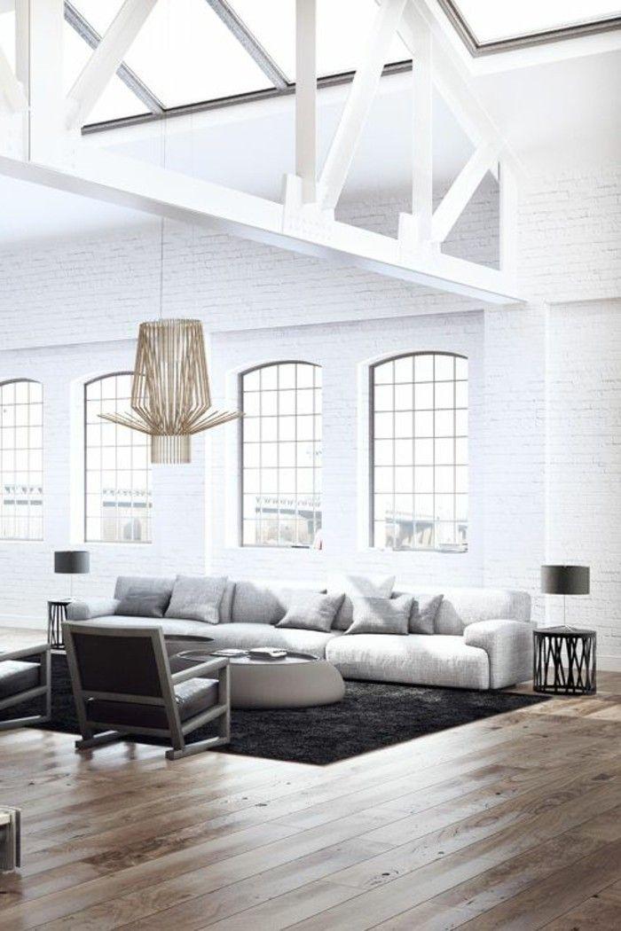 Mobilier style industriel pas cher simple meuble type for Salon esprit meuble