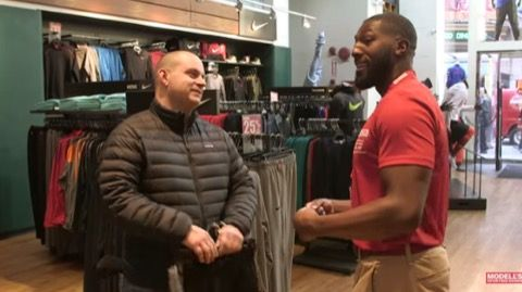 Greg Jennings Trying to Sell People He's Still Greg Jennings -- Former Green Bay Packers receiver Greg Jennings goes undercover at a sporting goods store, where he finds not everyone knows who Greg Jennings is anymore.