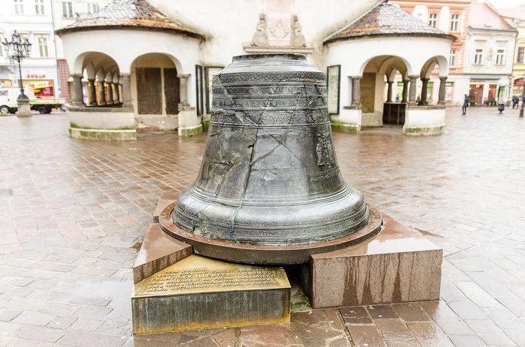 Многострадальный колокол башни Св. Урбана в Кошице