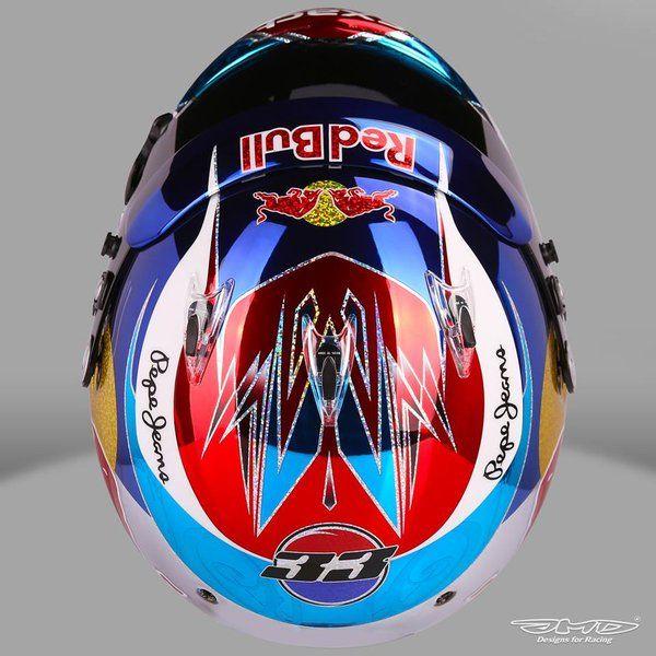 Max Verstappen's #MonacoGP helmet
