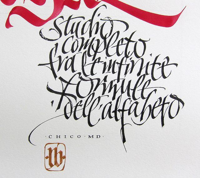 47 Best Italic Calligraphy Images On Pinterest