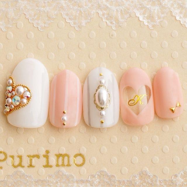 purimoさんのハート,ピンク,デート,サンプルチップネイル♪[837215]|ネイルブック