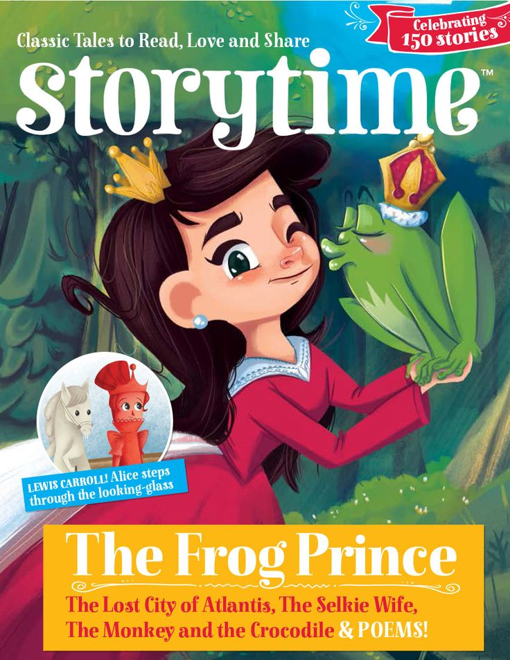 Storytime Issue 21 with a fantastic Frog Prince cover – and celebrating 150 stories published so far! ~ STORYTIMEMAGAZINE.COM
