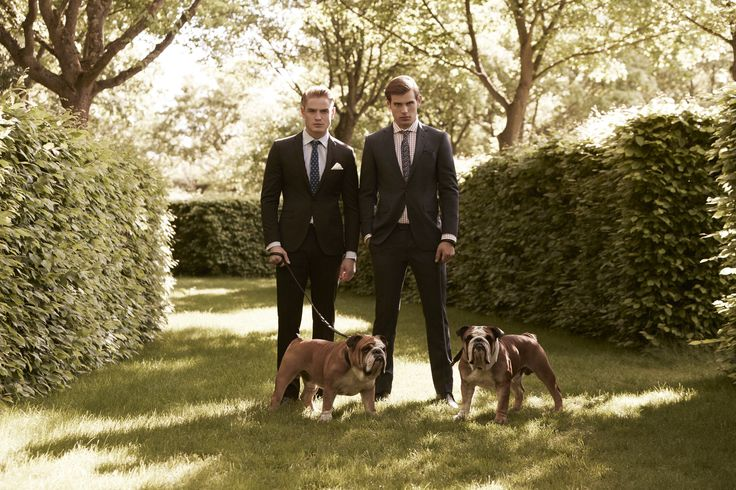 Ben Sherman Spring 2014 Campaign! Photographer: Sam Bisso Model: Matt Trethe & Patrick O'Donnell Stylist: Christian Stemmler Hair & Makeup: Lee Machin Creative Director: Tim Smith Dogs: Sugar and Pops