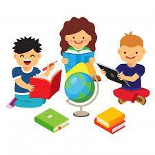 Resultado de imagen para niños estudiando