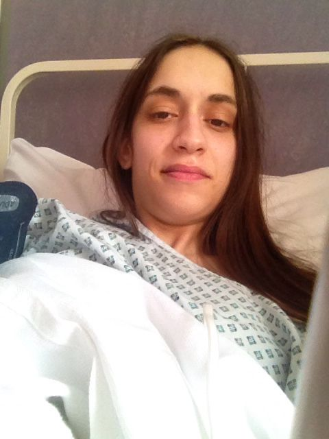 Just woke up from Surgery 😜😂💉💊🏥😷