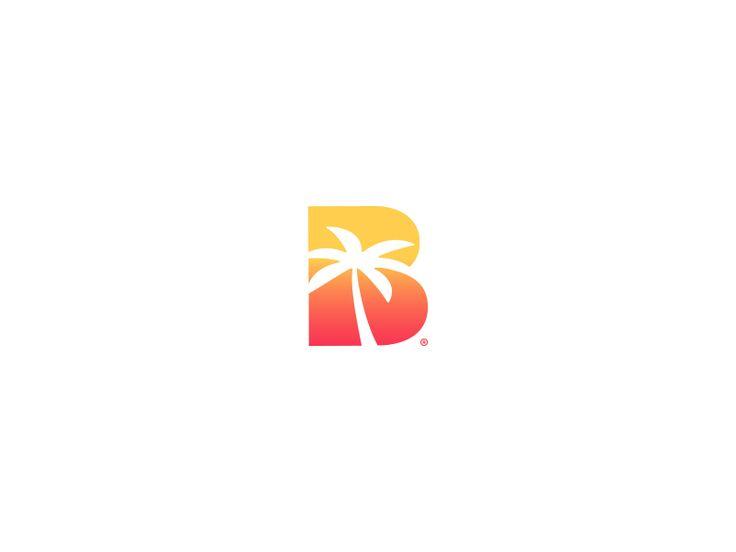 Beach + Sunset Logo design by yakup akdemir