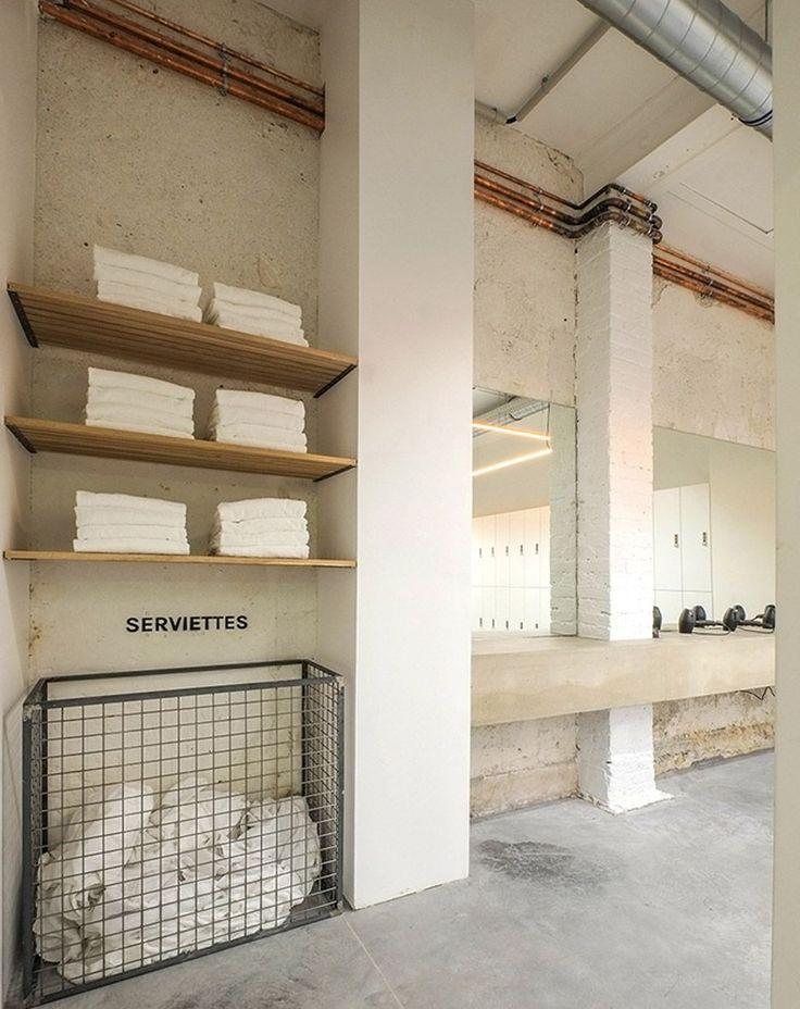 DAS Studio converts Parisian printing factory into indoor cycling studio