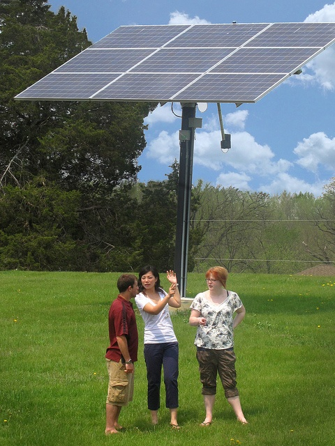 Three types of solar arrays at UW-Rock County, http://www.rock.uwc.edu/, allow for educational experiences for college students, K-12 students and teachers, and the general public.
