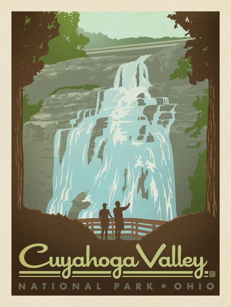 Brandywine Falls Cuyahoga Valley National Park Ohio