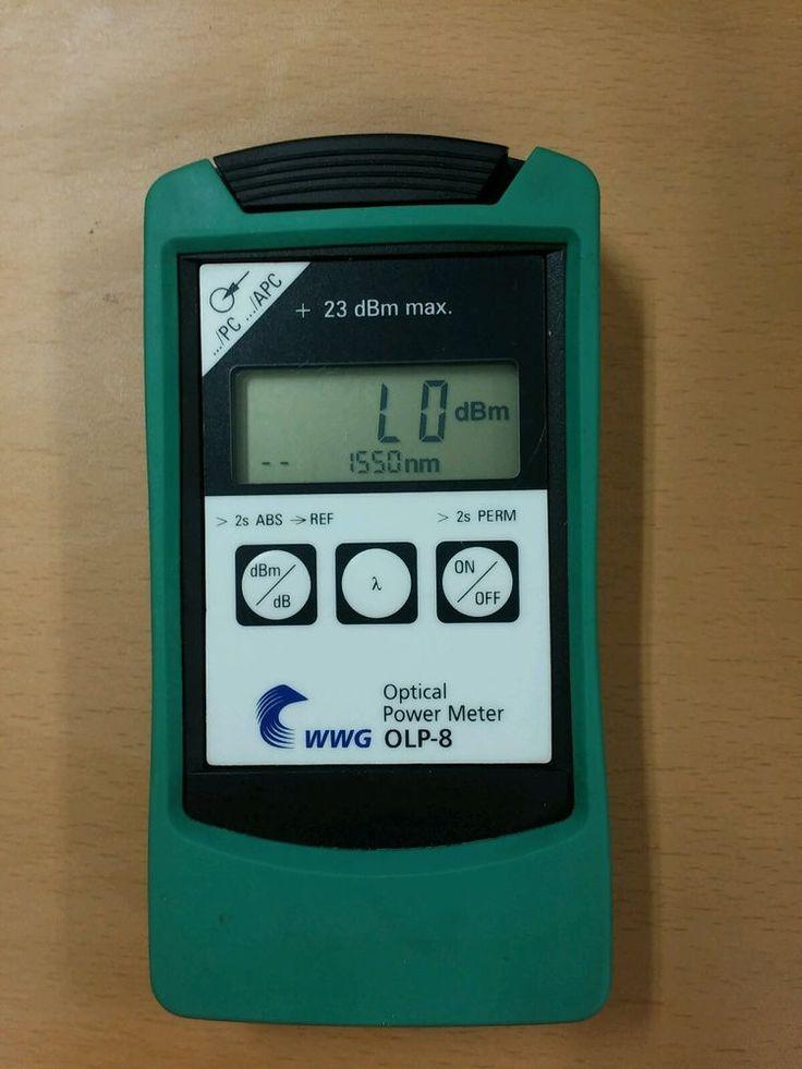 [WWG OLP-8] Optical Power Meter #WWG