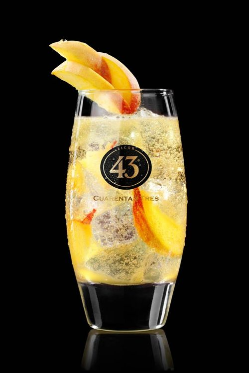 Cheaky peachy 43 Puur Recepten - Licor 43