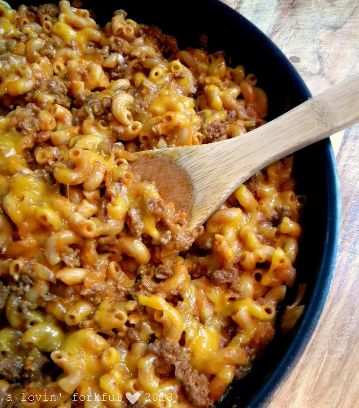 Skillet Chili Mac recipe - Foodista.com #easydinnerrecipes #quickandeasy