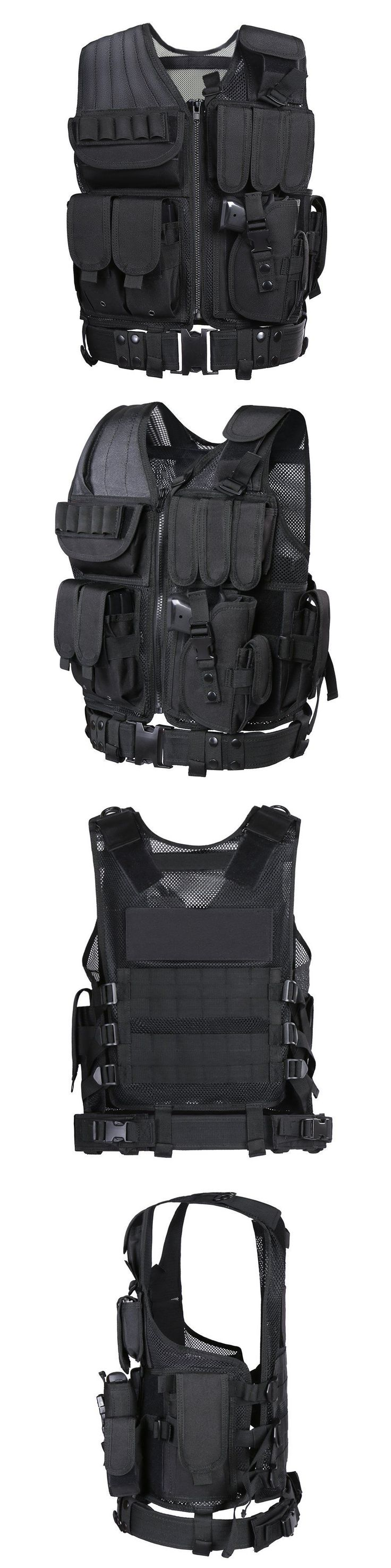 Chest Rigs and Tactical Vests 177891: Mechanic Electrician Carpenter Tool Vest Tactical Belt Bag Pouch Craftman Molle -> BUY IT NOW ONLY: $50.91 on eBay!