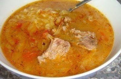 Густой грузинский суп Харчо!…