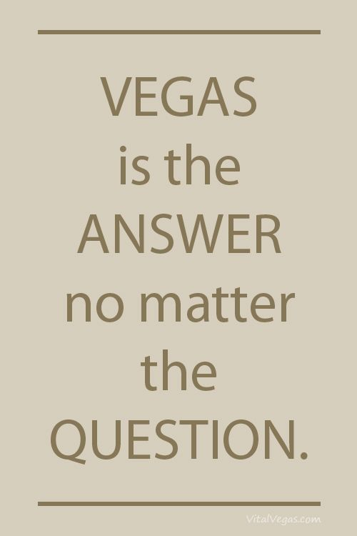 #Vegas is the answer no matter the question. #Travel #HotTipsTravel