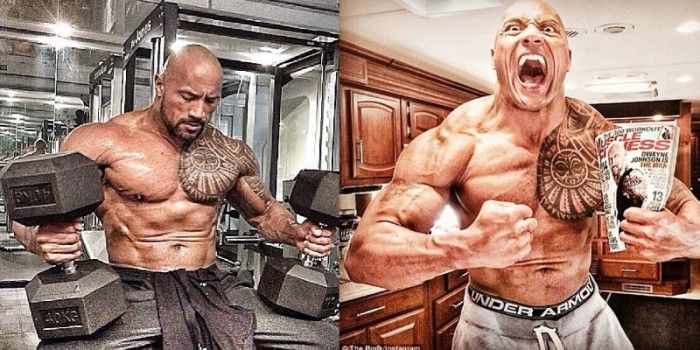 OMG !! Is It The Diet Of Respectable Rock For Fast and Furious 8?