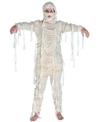 Сделать новогодний костюм мумии