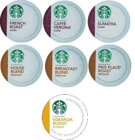 14 count variety pack of starbucks coffee kcups for keurig brewers 7 - Starbucks Keurig Cups