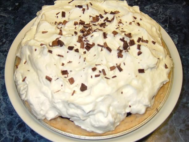 Luby's Cafeteria's Chocolate Icebox Pie. Photo by PanNan