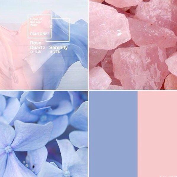 Pantone 2016 rose quartz serenity Popular Colors for Spring and Summer