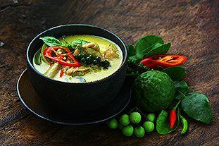 Grünes Curry mit Poulet oder Gemüse Rezepte