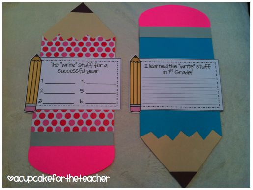 Use this craftivity for the end AND beginning of the year!