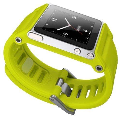 LunaTik TikTok Watch Wrist Strap for iPod Nano 6G - Yellow #LUNATIK