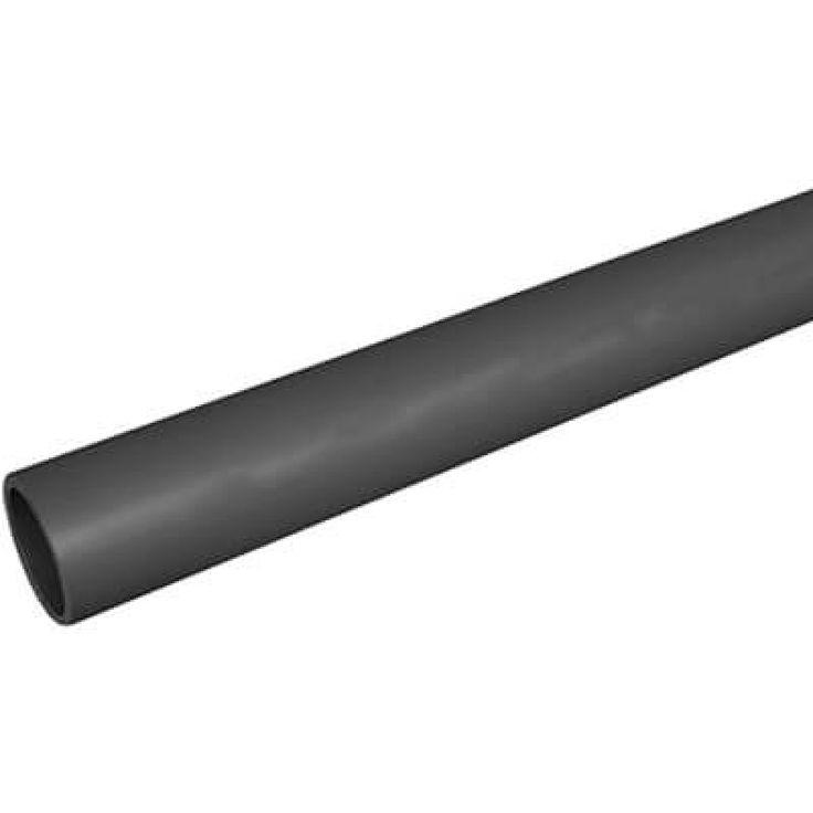 """1"""" x 10' Plain End Schedule 80 PVC Pipe"""
