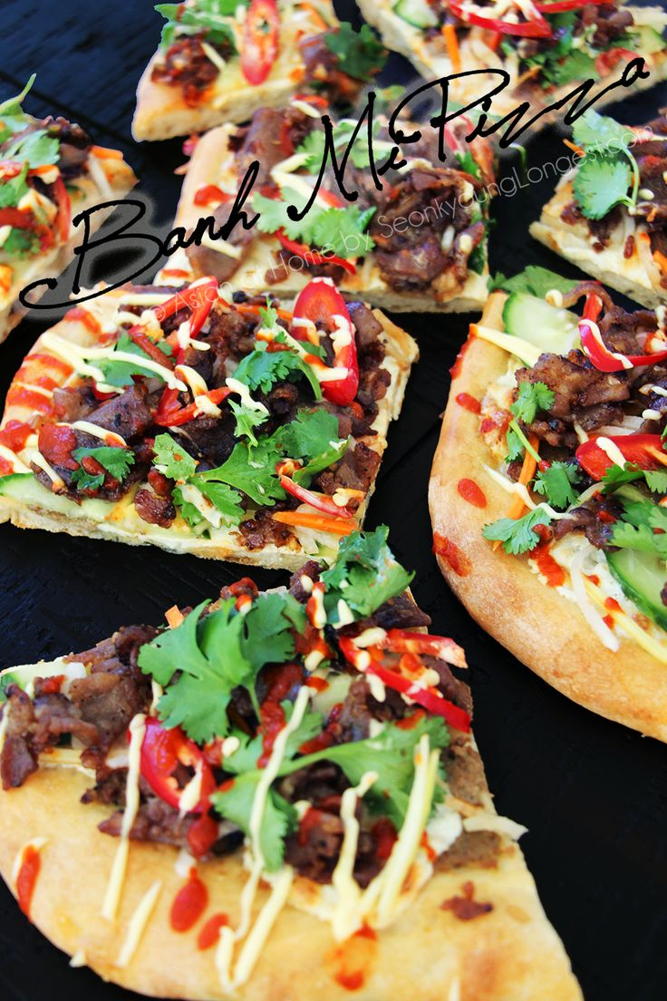 Banh Mi Pizza - Asian at Home