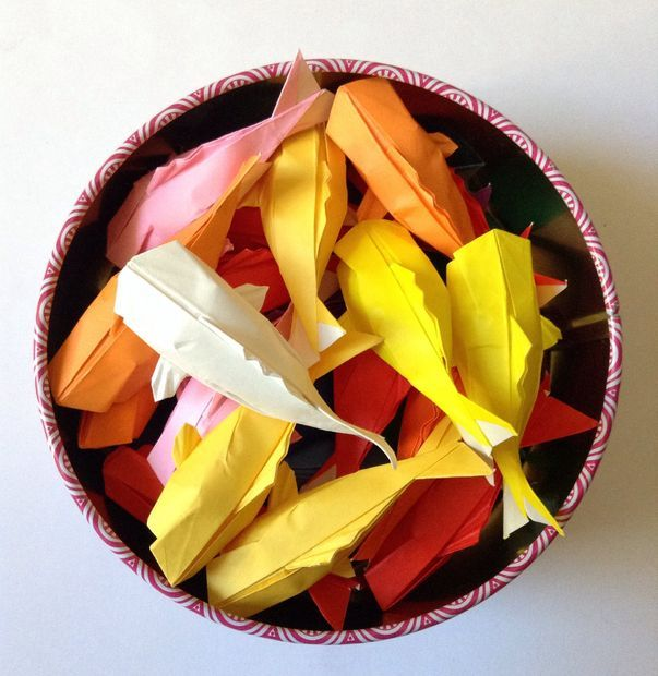 DIY Origami Koi: By watchmeflyy on Instructables.