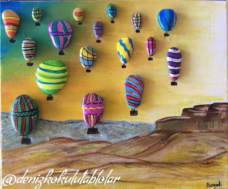 Kapadokya'da gün batımı 25x30 cm (Detaylı bilgi için DM veya mail atabilirsiniz) #sunset #sunsetincappadocia #taş #taşboyamatablo #peppleart #pepplestone #sanat #art #akrilikboya #dekorasyon #handpainted #stonepainting #tablo #taştasarım #taştasarımtablo #taşboyama #tasarım #paintedstones #paintedrocks