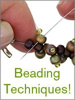 LOTS and lots of techniques from The Creative Room @ Fusionbeadsblog.com