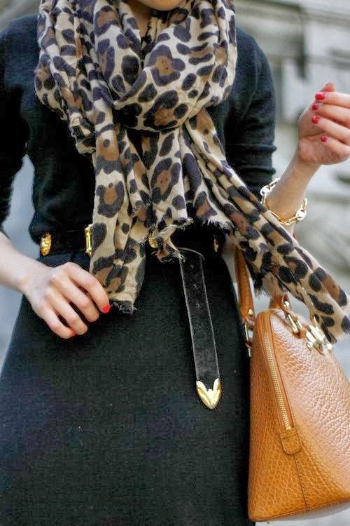 Leopard Scarf! Saw one at Charming Charlies the other day. I want to go back and get it!