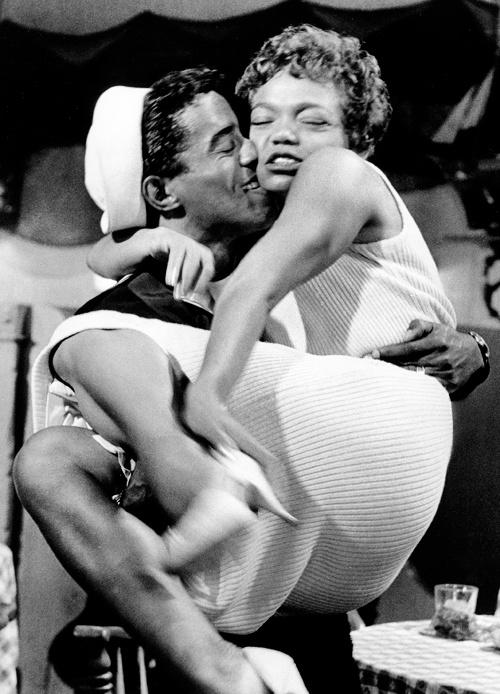 Eartha Kitt & Sammy Davis Jr. 1958