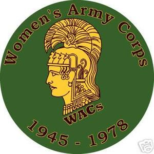 US ARMY VET WOMEN'S ARMY CORPS WACs
