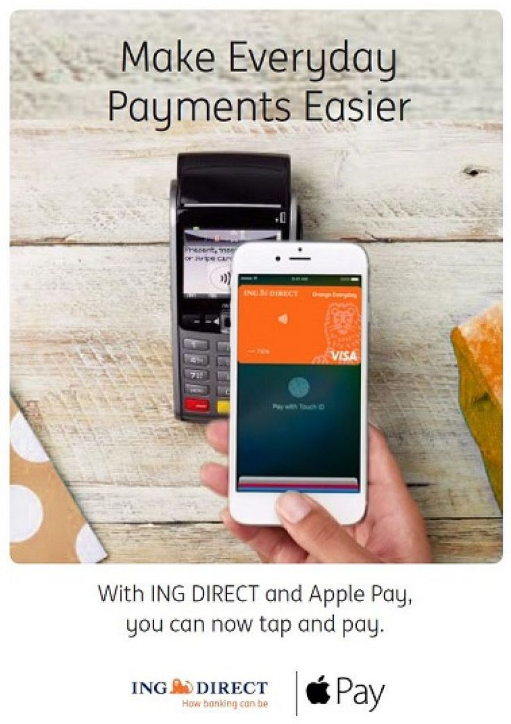 Apple Pay Coming Soon to ING Direct and Macquarie in Australia   #RelatedRoundup:ApplePayTag:Australia #news