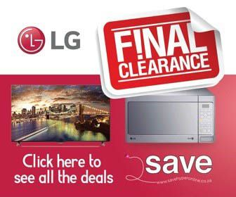 Now is your chance to get the best prices on #LG products in SA! 10 days only. LG clearance sale is on. Shop now >>> http://savehyperonline.co.za/lg-sale