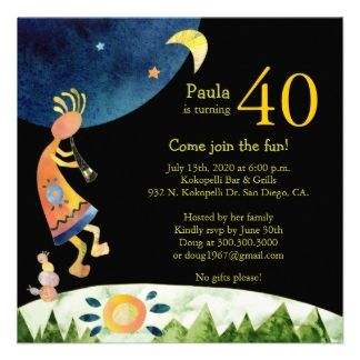 16 best 40th birthday invitations images on Pinterest 40th
