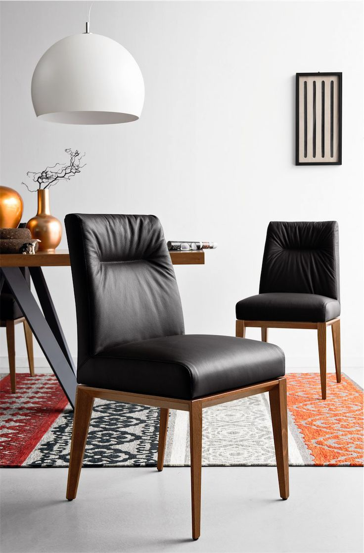best calligaris  dining chairs images on pinterest  dining  - calligaris  tosca dining chair  a cushioned back and seat ensuringmaximum comfort