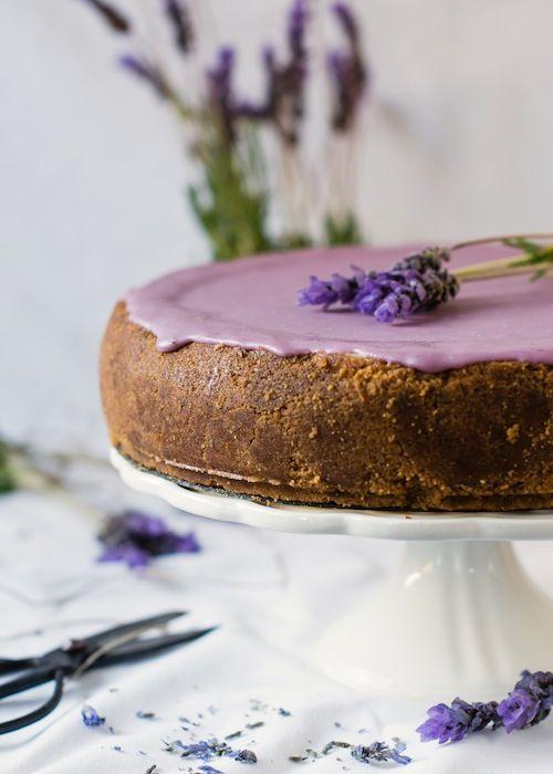 Tarta de lavanda by Loleta.es | Lavender Cheesecake