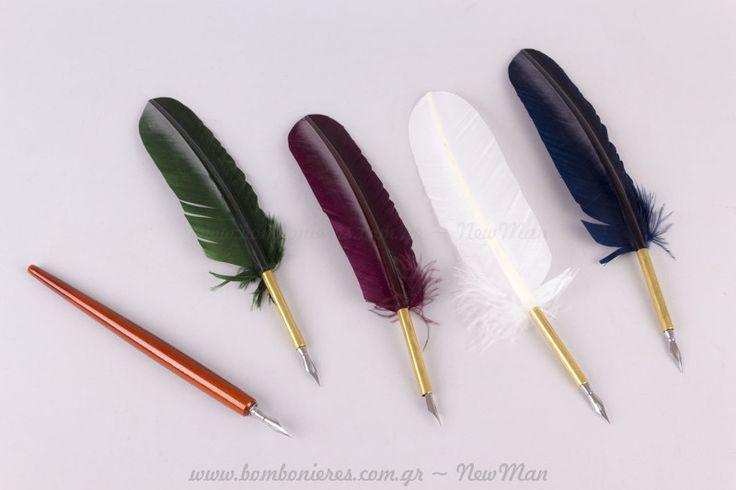 Πένα και μελάνι καλλιγραφίας | bombonieres.com.gr
